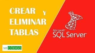 Curso SQL server 2017 español - 3. Crear tablas, Eliminar tablas