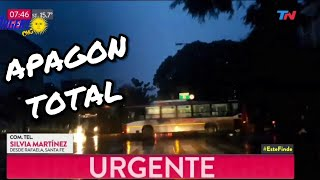 APAGON TOTAL TN Argento 2019 Argentina, Brasil, Chile/ Cortaste toda la looz