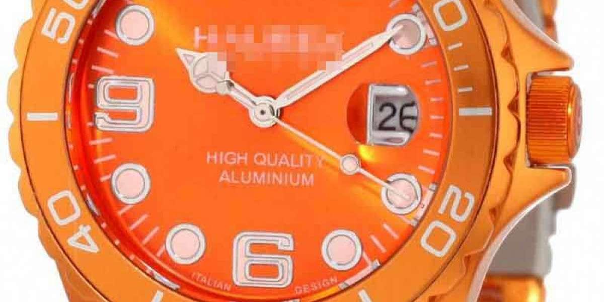Shopping Hot Designer Custom Orange Watch Face
