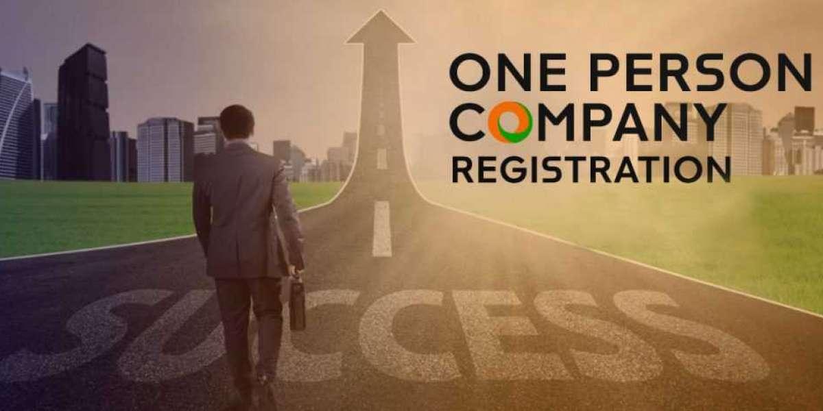 One Person Company Registration in indiranagar