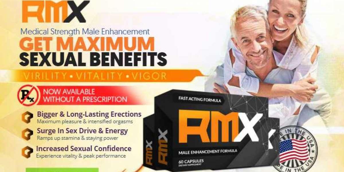 RMX Men's Health - Get Maximum Strength Price, Buy & Reviews in USA | RMX Male Enhancement