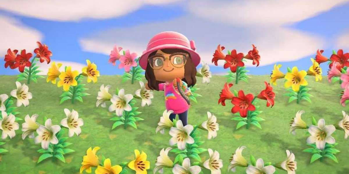 Animal Crossing Bells for Sale loaded on her island
