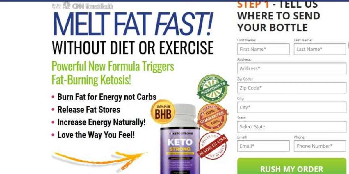 Keto Strong Latest Reviews & Official Website!