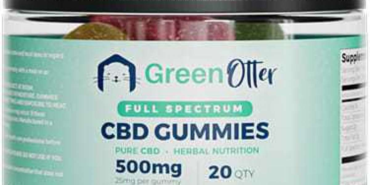 Green Otter CBD Gummies